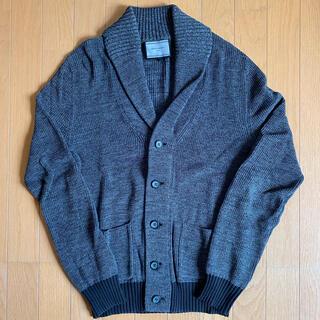 ユナイテッドアローズ(UNITED ARROWS)のUnitedArrows shawlcollar cardigan gray M(カーディガン)