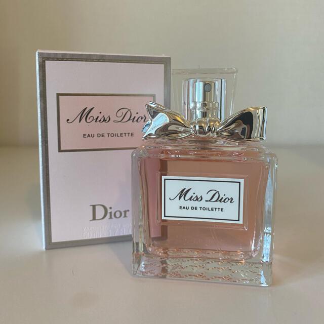 Dior(ディオール)の【新品】miss dior 香水 ミスディオール ディオール コスメ/美容の香水(香水(女性用))の商品写真