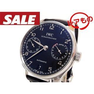 インターナショナルウォッチカンパニー(IWC)のIWC☆IW500109 ポルトギーゼ 7DAYS パワーリザーブ 自動巻き 2(腕時計(アナログ))
