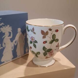 WEDGWOOD - ウェッジウッド ワイルドストロベリー マグカップ