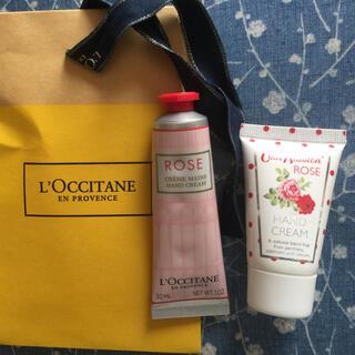L'OCCITANE - 未使用!ロクシタン ローズハンドクリーム 30ml & キャスキッドソン ローズ