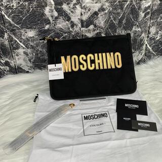モスキーノ(MOSCHINO)の美品 MOSCHINO クラッチバッグ モスキーノ(クラッチバッグ)