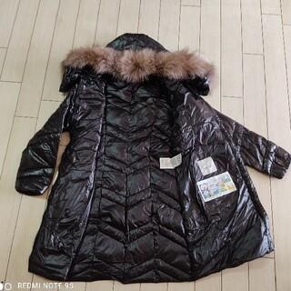 モンクレール レディース ダウン size2 ロングコート ジャケット