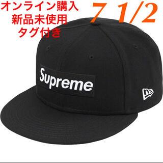 シュプリーム(Supreme)の新品 Supreme Champions Box Logo New Era 黒(キャップ)