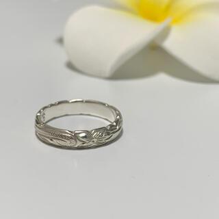 ハワイアンジュエリー リング silver925 (2枚目刻印あり)(リング(指輪))