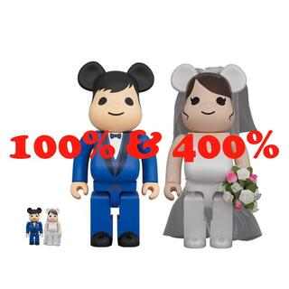 MEDICOM TOY - BE@RBRICK グリーティング結婚 4 PLUS