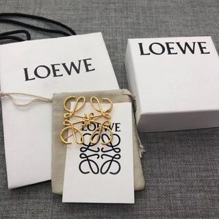 LOEWE - LOEWE ロエベ アナグラム ブローチ ゴールド
