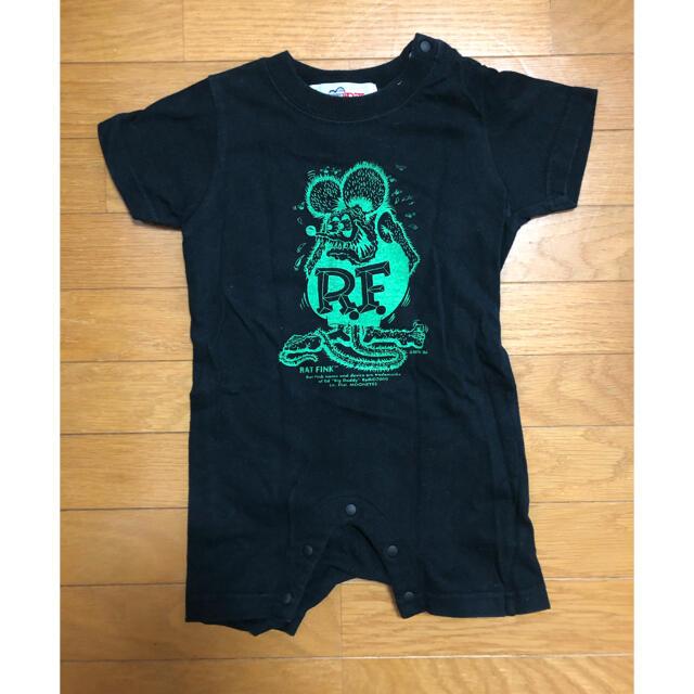 Ed Hardy(エドハーディー)のEd Roth半袖ロンパース  キッズ/ベビー/マタニティのベビー服(~85cm)(ロンパース)の商品写真