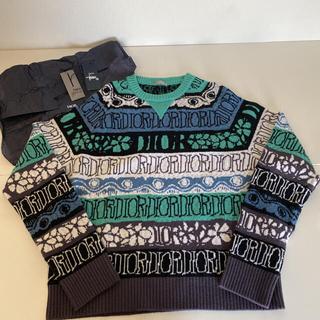 Dior - Dior stussy コラボ ニット セーター 完売品 Lサイズ