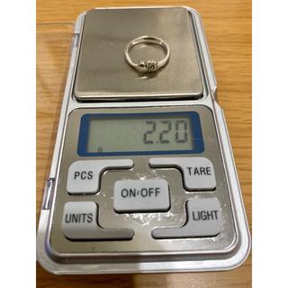 テイクアップ(TAKE-UP)のk14WG ダイヤモンドリング  気まぐれ特価出品❤︎✨(リング(指輪))