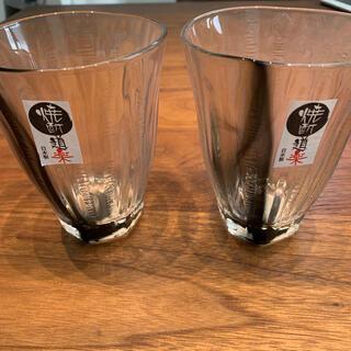 トウヨウササキガラス(東洋佐々木ガラス)の焼酎グラス 385ml 2個セット(グラス/カップ)