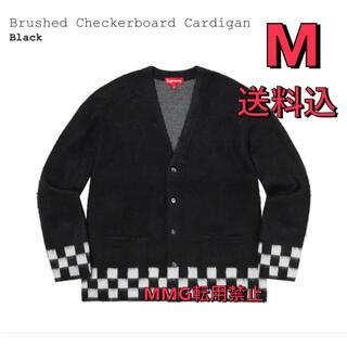 シュプリーム(Supreme)のsupreme Brushed Checkerboard Cardigan(カーディガン)