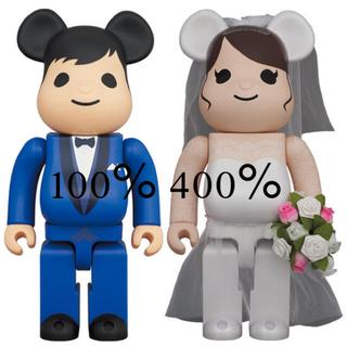 メディコムトイ(MEDICOM TOY)のBE@RBRICK グリーティング 結婚 4 PLUS 400% 100%(その他)