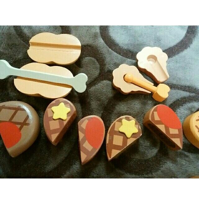 マザーガーデン お肉 キッズ/ベビー/マタニティのおもちゃ(知育玩具)の商品写真