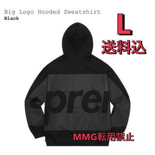 シュプリーム(Supreme)のsupreme Big Logo Hooded Sweatshirt L(パーカー)