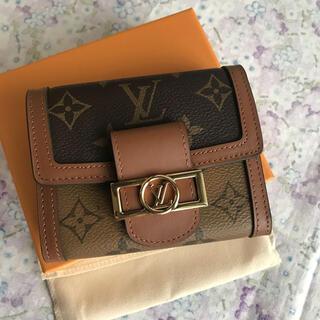 LOUIS VUITTON - ルイヴィトン M68725 ポルトフォイユ ドーフィーヌ コンパクト財布