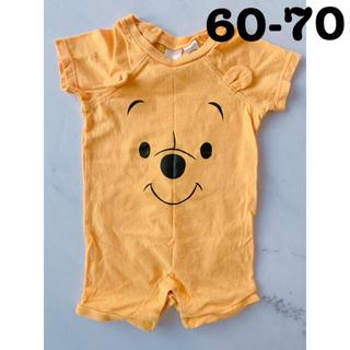 H&M - H&M ディズニー プーさん ロンパース ベビー服(60-70㎝)