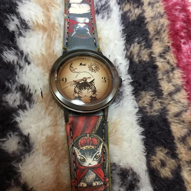 猫のダヤン 腕時計 レディースのファッション小物(腕時計)の商品写真