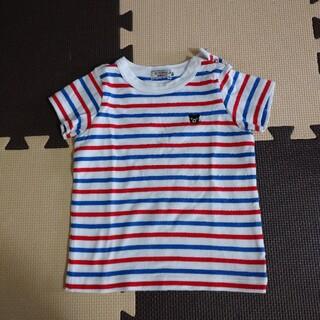 DOUBLE.B - ミキハウス DOUBLE.B ボーダーTシャツ サイズ80