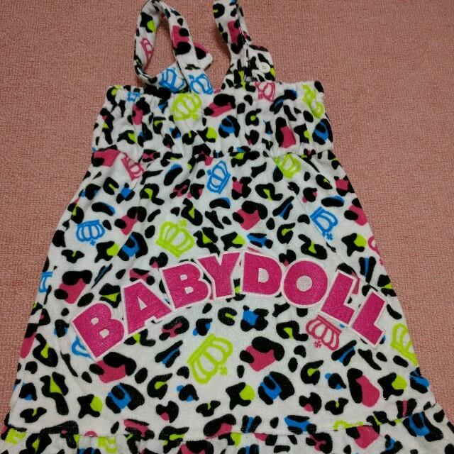 BABYDOLL(ベビードール)の値段交渉有り♡新品♡BABYDOLLワンピース【タオル地