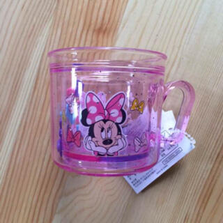 ミニーマウス(ミニーマウス)のディズニーリゾート限定 ミニー プラコップ 新品(弁当用品)