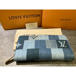 LOUIS VUITTON - 超美品 ルイヴィトン デニム パッチワーク ジッピーウォレット M44938