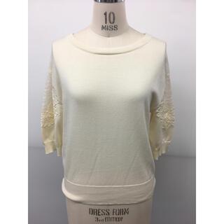 ジュエルチェンジズ(Jewel Changes)のジュエルチェンジズ購入 袖レースサマーセーター新品未使用タグ付き(ニット/セーター)