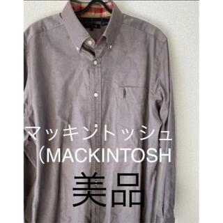 マッキントッシュ(MACKINTOSH)のマッキントッシュ(MACKINTOSH)長袖シャツ サイズL 美品(その他)