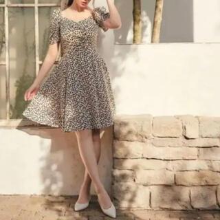 snidel - Her lip to チェリー柄ミニワンピース 新品