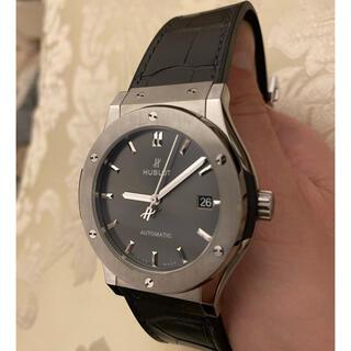 ウブロ(HUBLOT)のウブロ クラシックフュージョン グレー(腕時計(アナログ))