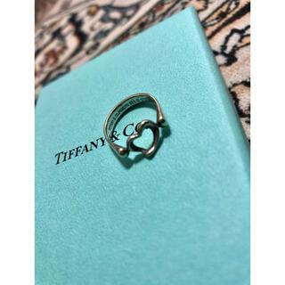 Tiffany & Co. - TIFFANY&Co. オープンハートリング