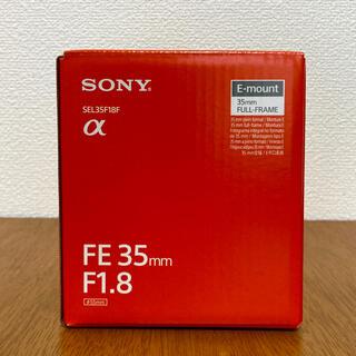 SONY - 未使用 ソニー SONY  FE 35mm F1.8  SEL35F18F