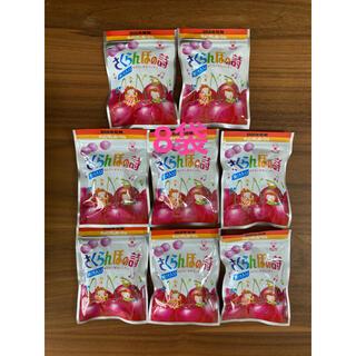 ユーハミカクトウ(UHA味覚糖)のUHA味覚糖 さくらんぼの詩 8袋 飴 キャンディ(菓子/デザート)