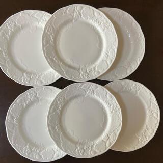 WEDGWOOD - ウェッジウッド ストロベリー&バインプレート 29㎝ 6枚セット 大皿 プレート