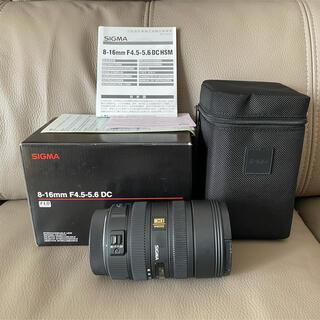 SIGMA - SIGMA 8-16mm F4.5-5.6 DC HSM  Canon