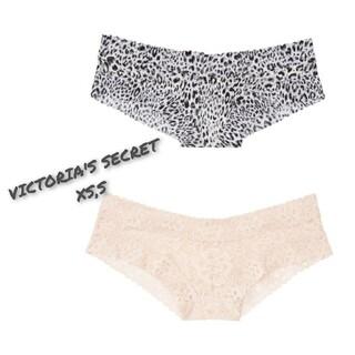 Victoria's Secret - ヴィクトリアシークレット レースチーキー 2枚セット XS