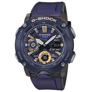 カシオ(CASIO)のカシオ G-SHOCK カーボンコアガード 腕時計 ブルー(腕時計(アナログ))