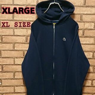 XLARGE - XLARGE エクストララージ メンズ ワンポイント刺繍 ワッペン パーカー