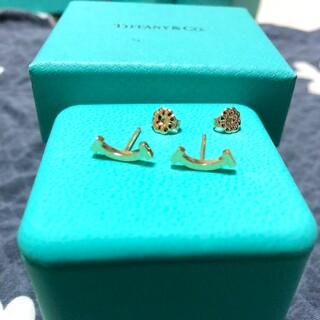Tiffany & Co. - ティファニー Tスマイル ピアス