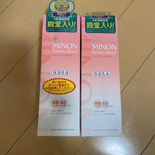 MINON - ミノン アミノモイスト モイストチャージ ミルク(100g) 2個セット 新品