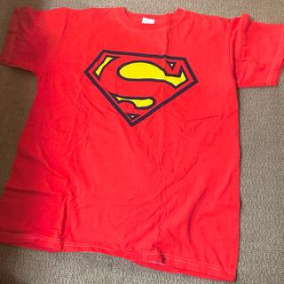 アンビル(Anvil)のanvil■スーパーマン Tシャツ 赤(Tシャツ/カットソー(半袖/袖なし))