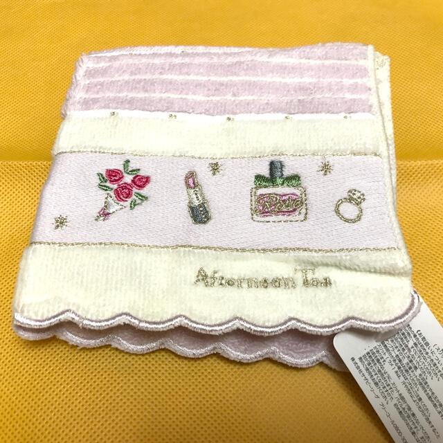 AfternoonTea(アフタヌーンティー)のafternoon  tea     タオルハンカチ♪ レディースのファッション小物(ハンカチ)の商品写真