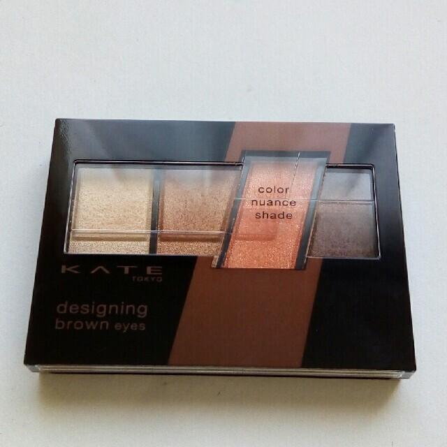 KATE(ケイト)のKATE デザイニングブラウンアイズ BR-3 コスメ/美容のベースメイク/化粧品(アイシャドウ)の商品写真