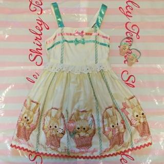 Shirley Temple - シャーリーテンプル うさぎ ジャンパースカート 120
