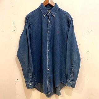 Ralph Lauren - 90's  POLO COUNTRY Denim B.D Shirts