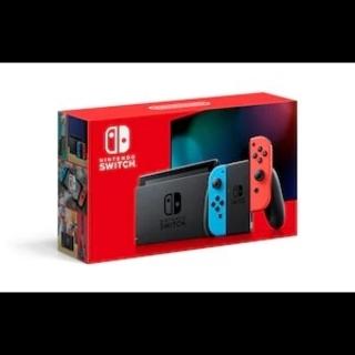 Nintendo Switch - 新品未開封 Nintendo Switch ネオンレッドネオンブルー新型スイッチ