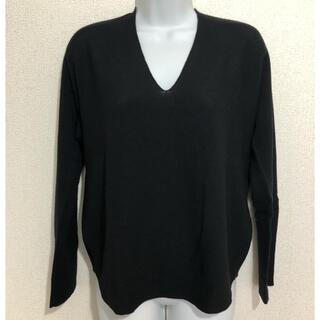 スコットクラブ(SCOT CLUB)のヤマダヤ Vin 薄手 ニット セーター 黒(ニット/セーター)