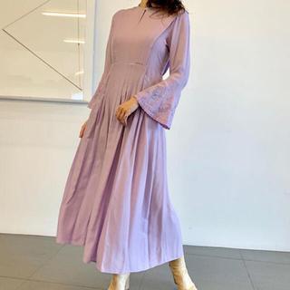 mame - mame 2019SS ラベンダー ドレス ワンピース