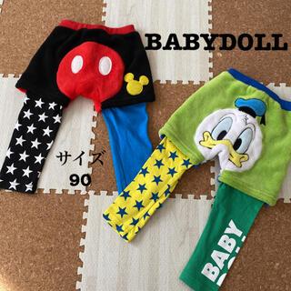 BABYDOLL - BABYDOLL パンツ ディズニー ドナルド&ミッキー