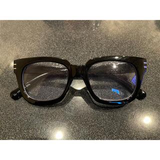 ユニクロ(UNIQLO)の伊達メガネ 眼鏡 サングラス 黒縁(サングラス/メガネ)